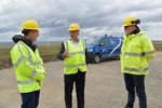 Scotland's Cabinet Secretary for Net Zero and Energy opens Gordonbush Extension wind farm