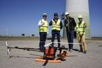Neue Wartungstechnologie für Windräder