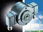 Compact, redundant and with integrated functional monitoring: The HeavyDuty hollow shaft encoder is prepared for all eventualities