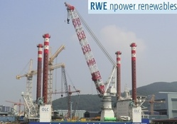 RWE Innogy erects wind measurement station in the North Sea
