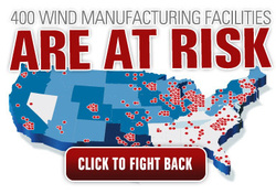 AWEA - A Member of windfair.net reports on 'SaveUSAWindJobs'