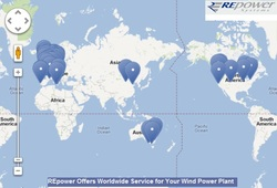 REpower Offers Worldwide Service for Your Wind Power Plant
