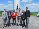 Maifeld feierte am Sonntag seinen neuen Windpark mit einem großen Bürger-Fest