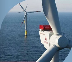 AREVA to supply 130 wind turbines for new offshore wind energy projects