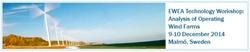 EWEA Technology Workshop: Analysis of Operating Wind Farms 2014