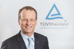Dr. Michael Fübi, Vorsitzender des Vorstands der TÜV Rheinland AG