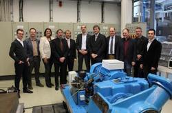 Treffen zum Projektstart am 17.1.2015 im IALB der Universität Bremen.