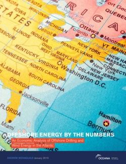 Offshore Energy by the Numbers, An Economic Analysis of Offshore Drilling and Wind Energy in the Atlantic