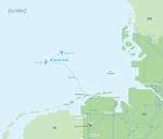 Erste Offshore-Netzanbindung der Großklasse fertiggestellt