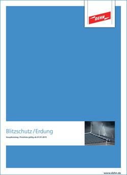 "DEHN-Hauptkatalog  ""Blitzschutz / Erdung"" 2015"
