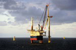 First power at German offshore wind farm
