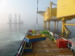Rhenus Offshore Logistics launches an offshore cargo service with fixed prices to wind parks in the German Bight