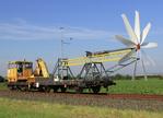 Windrad auf Schienen: SKF unterstützt Forschungsprojekt OptiBine