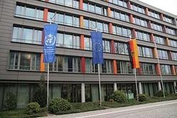 Beflaggung zum Welttag der Meteorologie (Denise Bergmann / DWD)