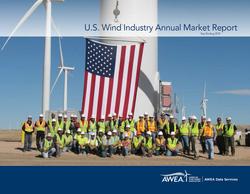 U.S. Wind Industry Annual Market Report.