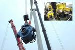 Spezialwerkzeug von seebaWIND Service erleichtert Getriebetausch bei Windkraftanlagen
