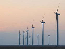 Wind turbines in Butler County, Kansas. (Photo by Brent Danley via Creative Commons)