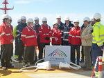 G7-Energieminister besuchen TenneT-Offshore-Plattform