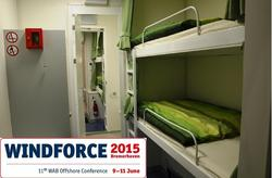 During all days of the conference the ELA Offshore Living Quarter can be visited