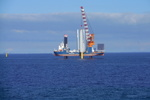 Last foundation pile installed for Westermeerwind nearshore wind park