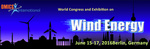 Exhibition Ticker - World Congress and Exhibition on Wind Energy - June 16-18, 2016 Berlin, Germany