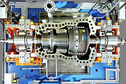 The first SST-600 steam turbine with magnetic bearings was developed in cooperation with the University of Zittau/Görlitz and was officially handed over to the customer Vattenfall.
