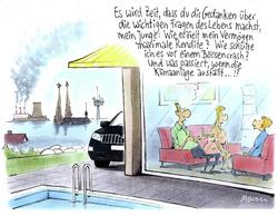 Karikatur von Gerhard Mester