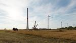 Königshovener Höhe: Erste Windkraftanlage der zweiten Bauphase erzeugt Strom
