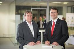 Eberhard Holstein (li.) und Dr. Felix Grolman (re.)