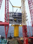 Belgium: Bligh Bank II offshore substation in progress