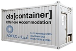 Germany - ELA Container Offshore GmbH to exhibit at ADIPEC 2015 in Abu Dhabi