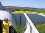 Vertreter des BWE-Landesverbandes Schleswig-Holstein auf dem Windgipfel in Kiel