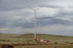South Africa: Noupoort wind farm erects first wind turbine