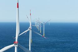 80 Siemens Windenergieanlagen der 3,6 Megawatt-Klasse versehen hier ihren Dienst. (Foto: Vattenfall)