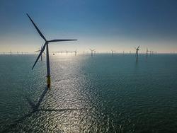 Der britische Offshore-Windpark Gwynt y Môr von RWE Innogy - Jedes weitere Projekt trägt zur Kostenreduktion bei (Foto: RWE)