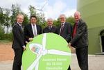 Windpark Rohrberg eingeweiht