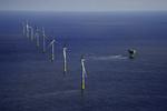 Letzte Windkraftanlage im Offshore-Windpark Gode Wind installiert