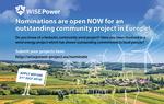 Windenergieprojekte für Best Community Award gesucht