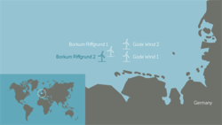 Borkum Riffgrund 2 is our fourth offshore wind farm in Germany.