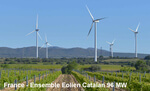 France: EDF Group commissions France's most powerful wind farm, the Ensemble Eolien Catalan facility
