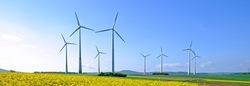 Frankreich verfügt über das zweitgrößte Windenergiepotenzial in Europa sowie eine ausgedehnte, für den Ausbau der Offshore-Windenergie bestens geeignete Küste. (Bildquelle: Windustry)