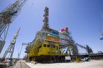 Umspannplattform für Offshore-Windpark Wikinger fertig gestellt