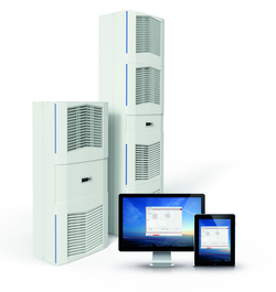 Die neuen ELMEKO-Kühlgeräte der SlimFit-Serie überzeugen mit Effizienz und einer umfassenden Fernbedienung per PC und Tablet.  (Bild: ELMEKO)