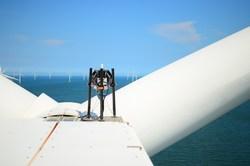 ZephIR DM looking out towards the wind farm