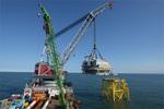 Bilderserie: Siemens meistert Installation von Offshore-Netzanbindung