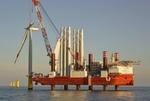 Grundstein für Offshore-Windpark Arkona in Sassnitz gelegt