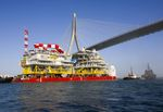 Baltic Offshore Wind Farm Wikinger on track