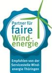 """Energiekontor mit dem Siegel """"Faire Windenergie Thüringen"""" ausgezeichnet"""