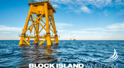 The first US offshore wind farm Block Island (Image: Deepwater Wind)