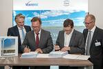 Ventotec schließt Rahmenvertrag über 200 Siemens Direct Drive Windturbinen